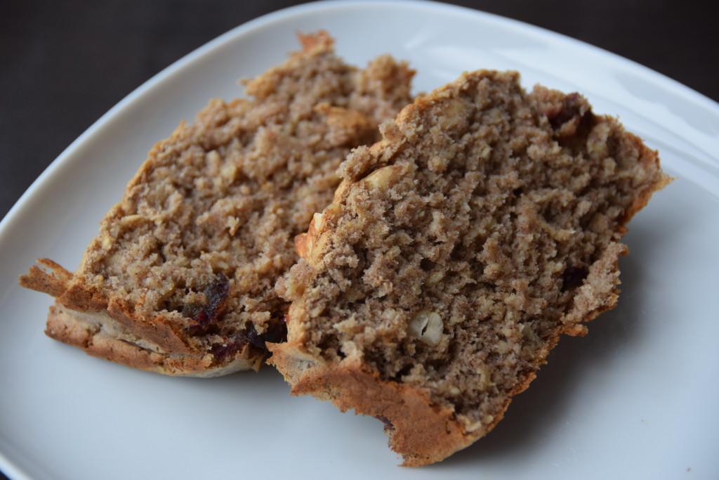 Banaan-havermout brood