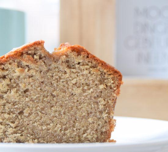 Glutenvrij recept voor een fijne cake van bakbananenmeel