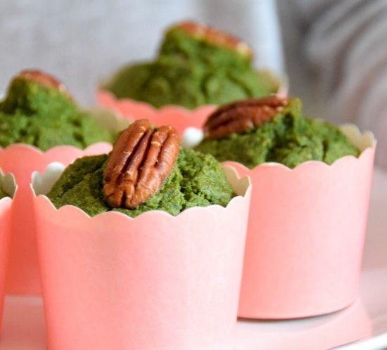 Spinazie ontbijt muffins