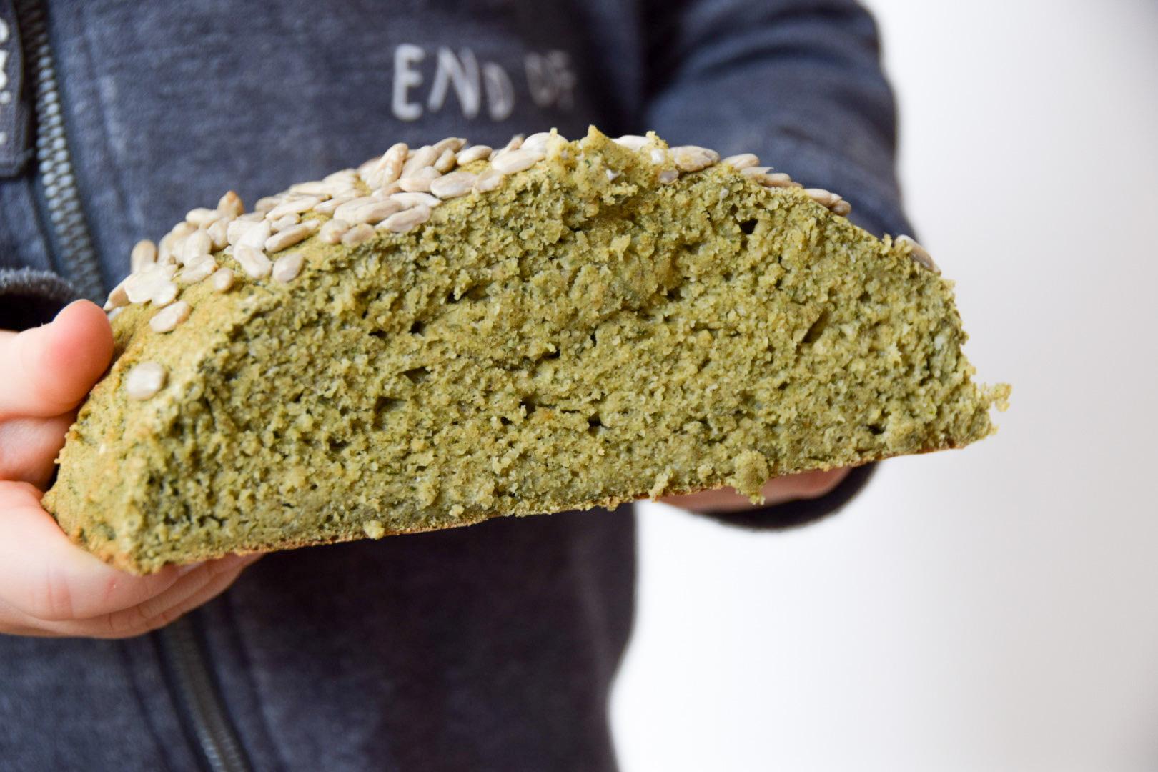 glutenvrij borrelbrood van bakbananenmeel