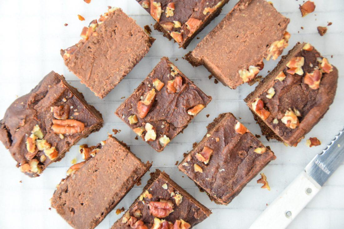 De lekkerste glutenvrije brownies van bakbananenmeel