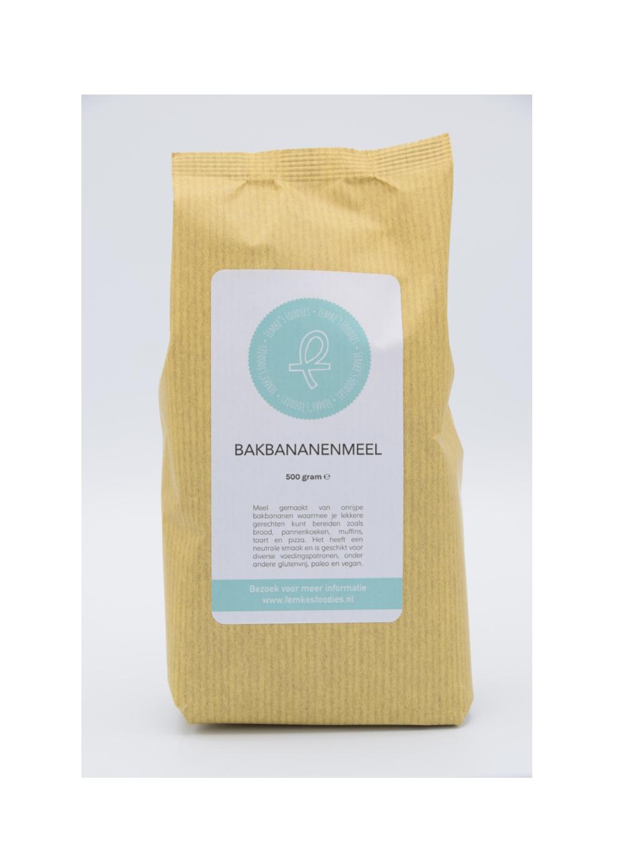 Bakbananenmeel 500 gram