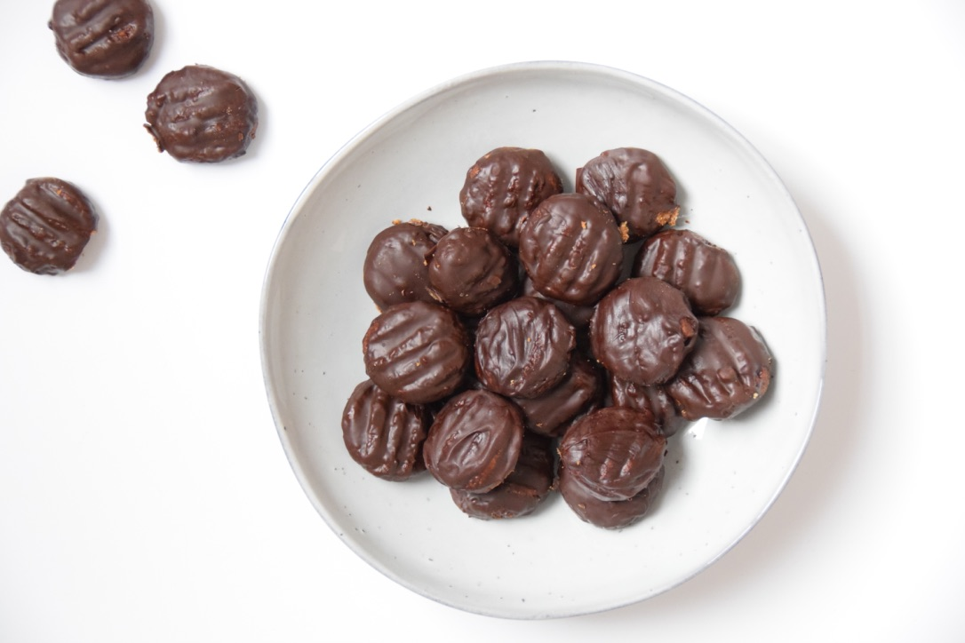 Glutenvrije en lactosevrije chocolade kruidnoten
