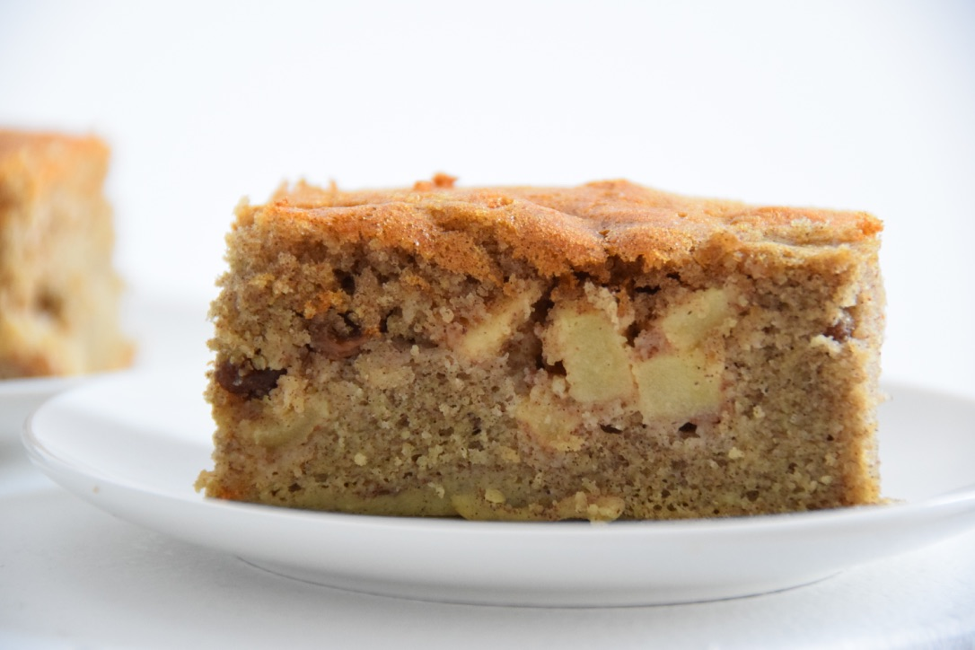 Appelcake van bakbananenmeel