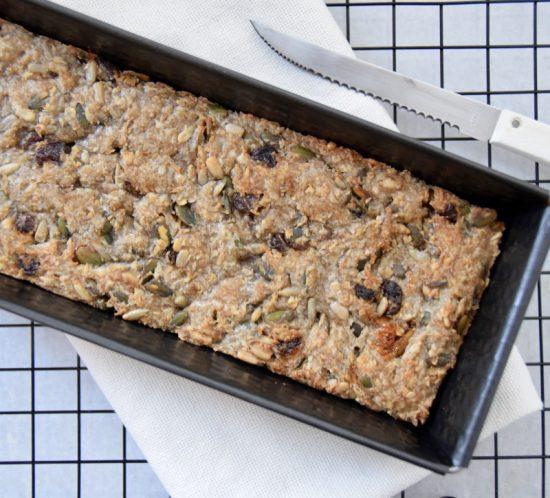Glutenvrij zaden- en pittenbrood