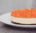 Perzik kwarktaart (lactosevrij en glutenvrij)