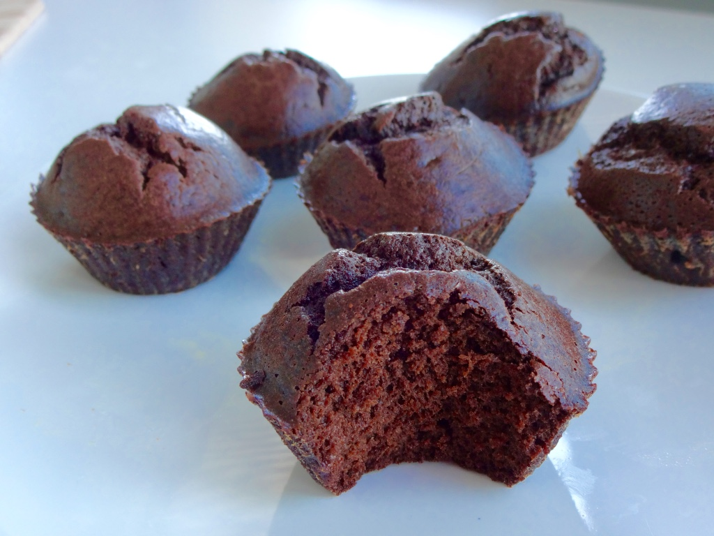 Carobe muffins