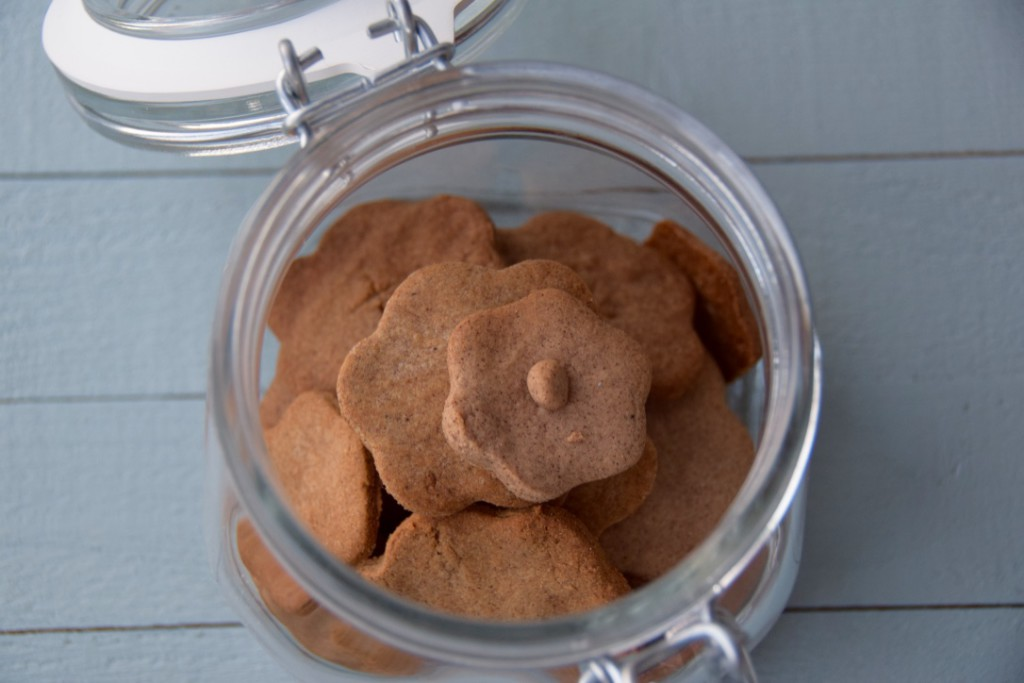 Knapperige kaneel koekjes