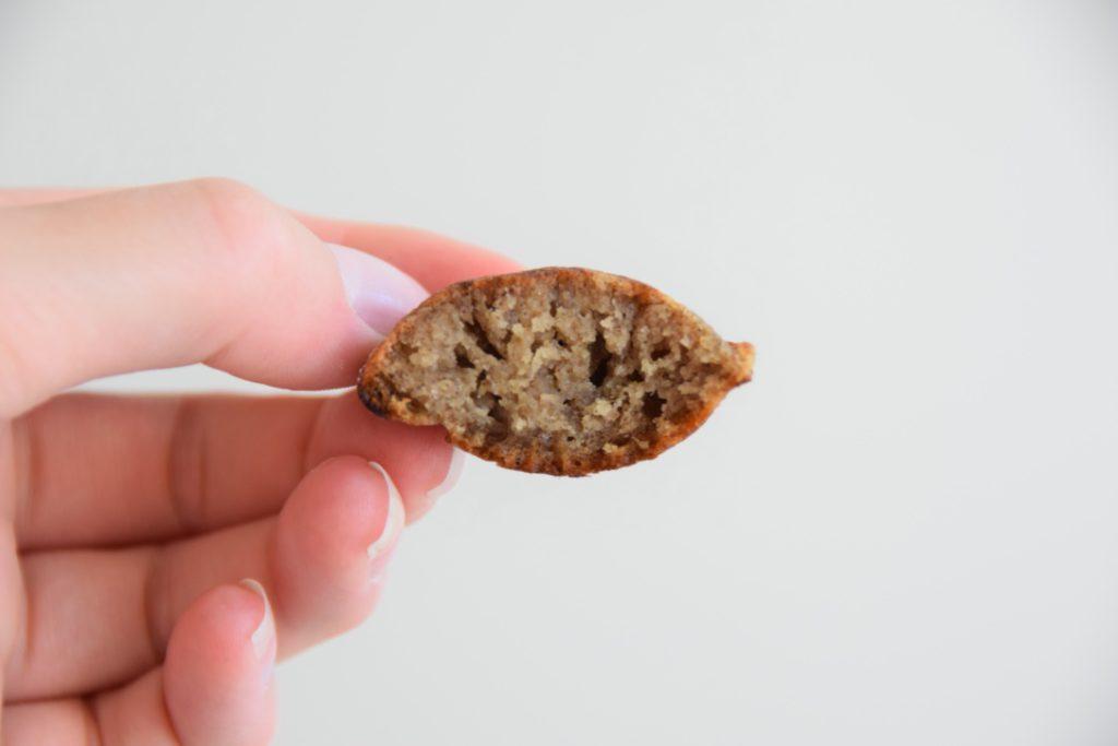 glutenvrije en lactosevrije poffertjes van bakbananenmeel