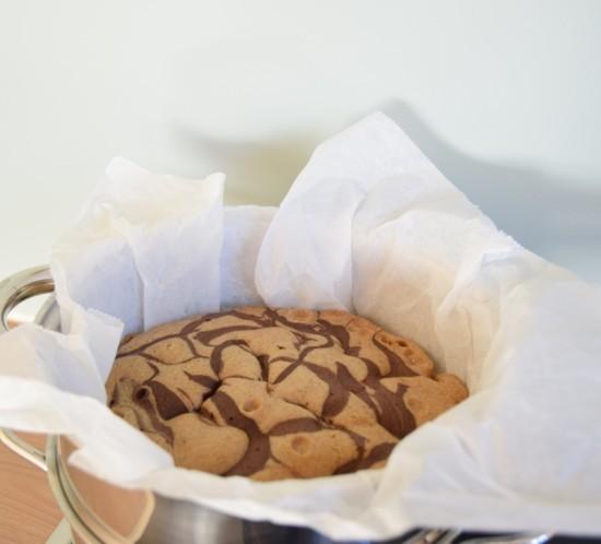 Glutenvrije roti kukus van bakbananenmeel