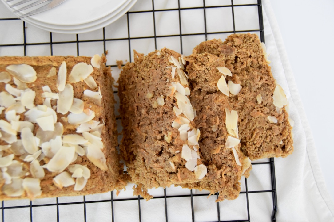 Maartens glutenvrije bananenbrood met wortel